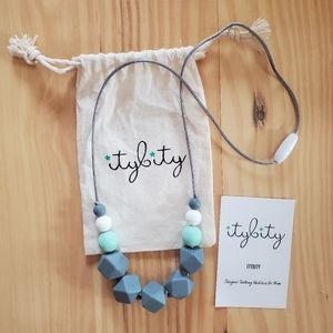 Itybity Teething Necklace for Momma & Baby